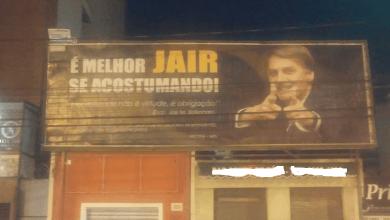 Photo of OUTDOOR EM APOIO AO DEPUTADO JAIR BOLSONARO POLEMIZA EM VIÇOSA