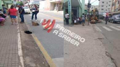 Photo of CRATERA NA RUA PARA O TRÂNSITO EM VIÇOSA