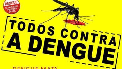 Photo of 101 CASOS DE DENGUE CONFIRMADOS EM VIÇOSA