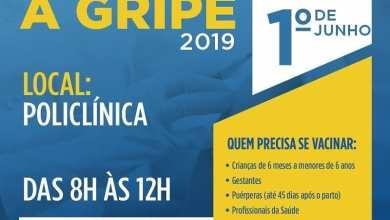 Foto de ESSA É A ÚLTIMA SEMANA DE VACINAÇÃO CONTRA A GRIPE