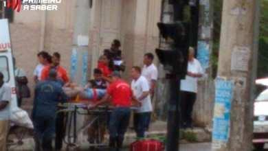 Photo of COLISÃO ENTRE CARRO E MOTO NA LADEIRA DOS OPERÁRIOS