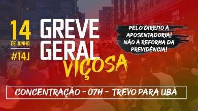 Photo of ACONTECERÁ GREVE GERAL EM VIÇOSA AMANHÃ