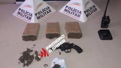 Photo of ADOLESCENTE É APREENDIDO COM GRANDE QUANTIDADE DE DROGAS E ARMA NO BAIRRO UNIÃO