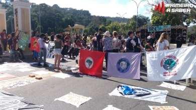Photo of GREVE NACIONAL PELA EDUCAÇÃO: MANIFESTANTES SE REÚNEM NAS 4 PILASTRAS