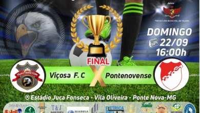 Photo of Viçosa F. C. joga neste domingo pela final no Campeonato Regional do Café de Futebol Feminino