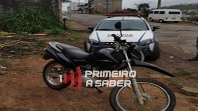 Photo of Motocicleta é recuperada no Nova Era