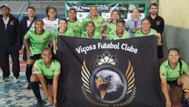 Photo of Viçosa F. C. é campeão no 4° Campeonato de Futsal Feminino de Ervália