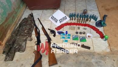 Photo of PMMA apreende armas de fogo e materiais usados para caça em Guiricema