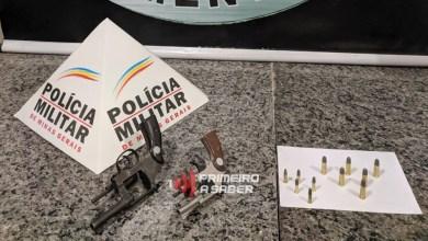Photo of Dois homens são presos com armas de fogo no Paiol em Viçosa