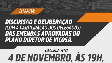 Photo of Audiência Pública discute deliberação das emendas aprovadas do Plano Diretor de Viçosa