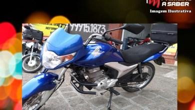 Photo of Motocicleta é roubada em Teixeiras