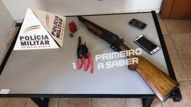 Photo of Três homens são presos com armas em Visconde do Rio Branco
