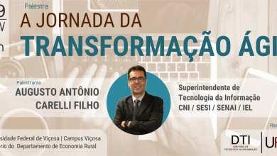 Photo of DTI promove palestra com superintendente de Tecnologia da Informação da Confederação Nacional da Indústria