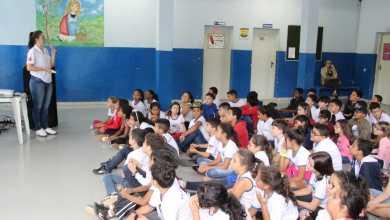 Photo of Diretran realiza palestra sobre trânsito na escola Effie Rolfs