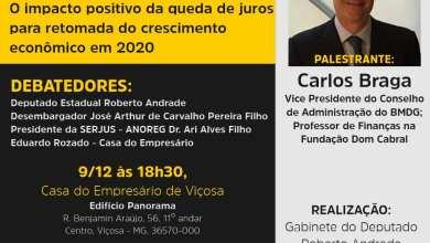 """Photo of Palestra """"Fontes de Financiamento para o Crescimento"""" será realizada em Viçosa"""