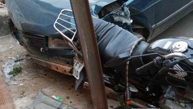 Photo of Carro quase bate em casa no Santo Antônio em Viçosa