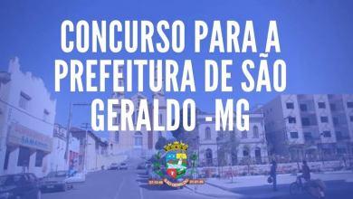 Photo of Prefeitura de São Geraldo lança edital de concurso com salários de até R$ 7.588,68