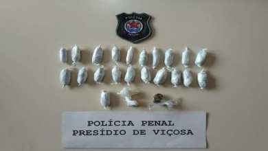 Photo of Detento é flagrado com drogas no Presídio de Viçosa
