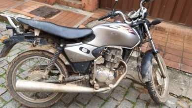 Photo of Motocicleta roubada é localizada pela PM no Lourdes