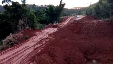 Photo of Primeiro desvio que liga Coimbra a Ervália está em fase de finalização: obras continuam na 2ª cratera