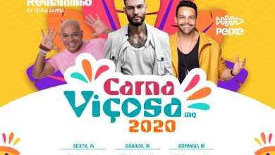 Photo of CarnaViçosa 2020 tem shows gratuitos a partir desta sexta-feira