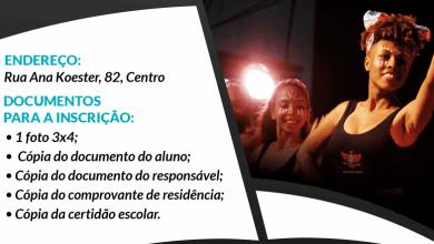Photo of Inscrições para o Centro Experimental de Artes terminam hoje (21)
