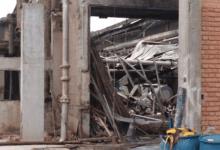 Photo of Telhado de fábrica de papel desaba e deixa morto em Ponte Nova