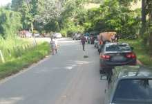 Photo of Motociclista fica ferida em acidente na estrada que liga a São José do Triunfo