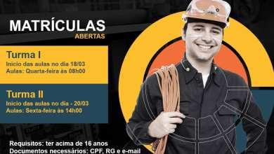 Photo of Curso gratuito de Eletricista Básico está com inscrições abertas