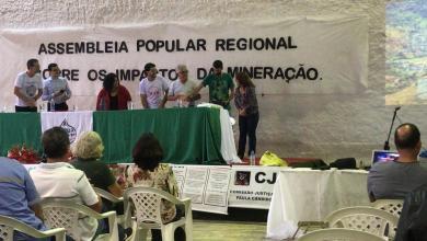 Photo of Parcialidade marca encontro da assembleia popular regional sobre os impactos da mineração