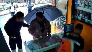 Foto de Loja de eletrônicos é assaltada no Centro de Viçosa; reação de idoso impressiona