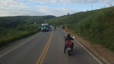 Foto de Acidente deixa feridos em Visconde do Rio Branco