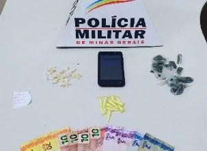 Photo of Jovem é preso e adolescente é apreendido com drogas no Ponte Preta em Ubá