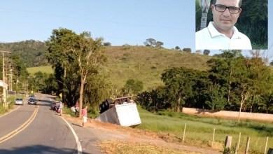 Foto de Caminhoneiro morre após acidente em Ponte Nova