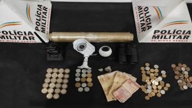 Photo of Suspeito é detido com drogas e rádio comunicador da PM no Laranjal
