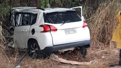 Photo of Mulher morre em acidente em Visconde do Rio Branco
