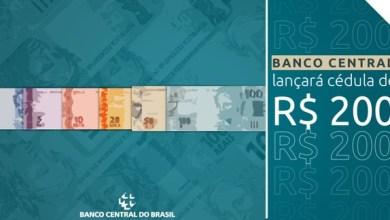 Foto de Banco Central anuncia que lançará cédula de R$ 200