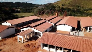 Foto de Avanço das obras de construção da Escola de Tempo Integral