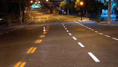 Foto de Diretran renova pintura horizontal em avenidas de Viçosa