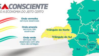 Foto de Taxa de incidência do coronavírus cai 32% no estado e regiões Oeste, Sul e Leste avançam para onda verde do Minas Consciente