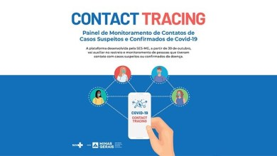 Foto de Minas vai ampliar monitoramento de contatos de casos suspeitos ou confirmados de covid-19