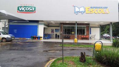 Foto de Supermercado Escola fomenta campanha Semana Lixo Zero em Viçosa