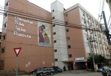 Foto de CTI destinado à COVID-19 no Hospital São João Batista continua fechado