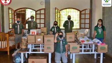 Foto de Escoteiros de Viçosa reativam o projeto Fios do Bem