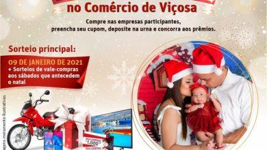 Foto de Começou a campanha Natal da Esperança no Comércio de Viçosa, realizada pela Casa do Empresário