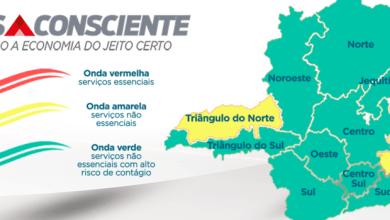 Foto de Mais de 70% das macrorregiões de Saúde estão na onda verde do Minas Consciente