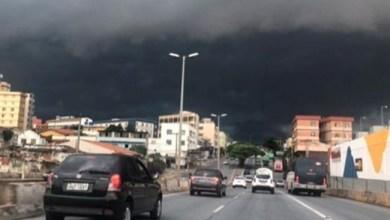 Foto de Inmet: Viçosa e mais 513 cidades de Minas têm alerta de chuva forte, granizo e vendaval para esta terça