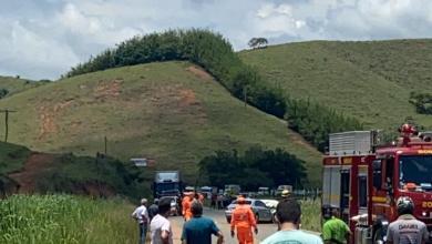 Foto de Acidente com vítima fatal na rodovia que liga Visconde do Rio Branco a Ubá