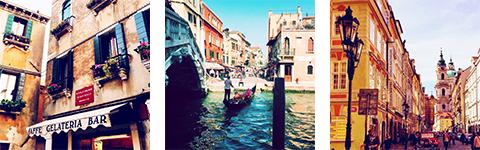 Viajar sozinha na Itália e na República Tcheca