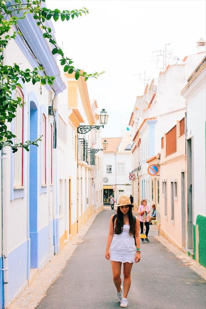 Centro histórico de Lagos Algarve Portugal